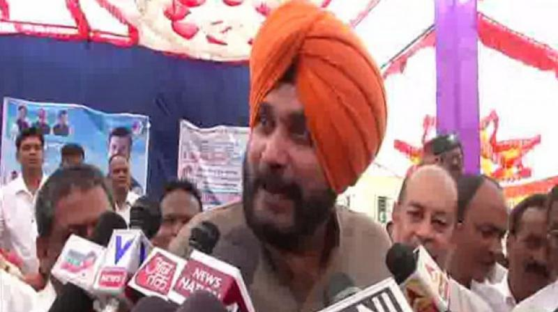 Congress leader and Punjab's Local Government Minister Navjot Singh Sidhu on Thursday said any change in his portfolio will be the decision of Chief Minister Captain Amarinder Singh. (Photo: File)