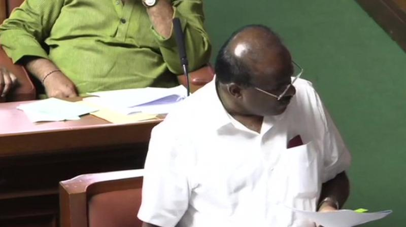 He asked Speaker K R Ramesh Kumar to fix the time for it. (Photo: ANI | Twitter)