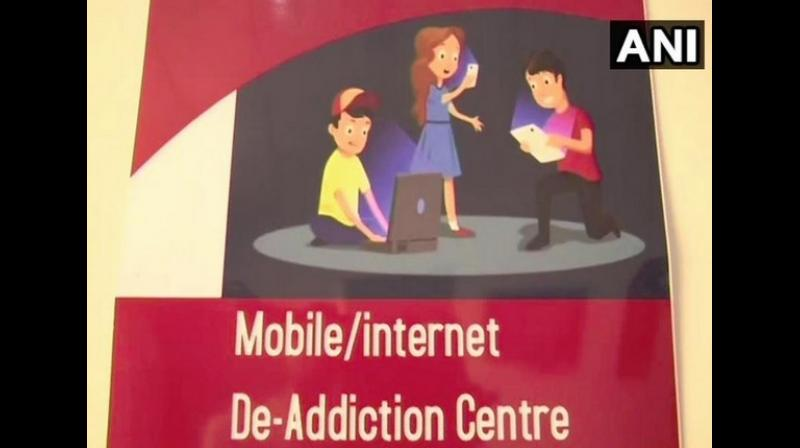 The mobile de-addiction centre is treating patients who are addicted to using their smartphones. (Photo: ANI)