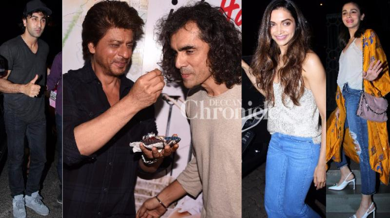 Imtiaz Ali turned a year older on Friday, an occasion he celebrated with a bash attended by Bollywood celebrities in Mumbai. (Photo: Viral Bhayani)