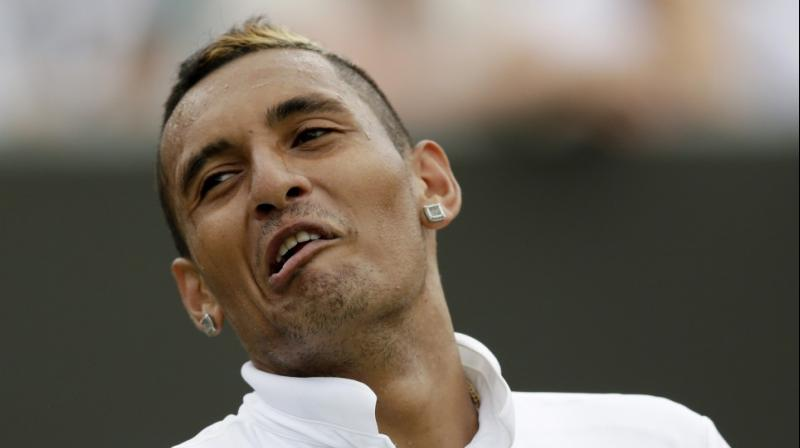 Self-proclaimed comedian interrupts Nick Kyrgios' Australian Open match with carnal noises