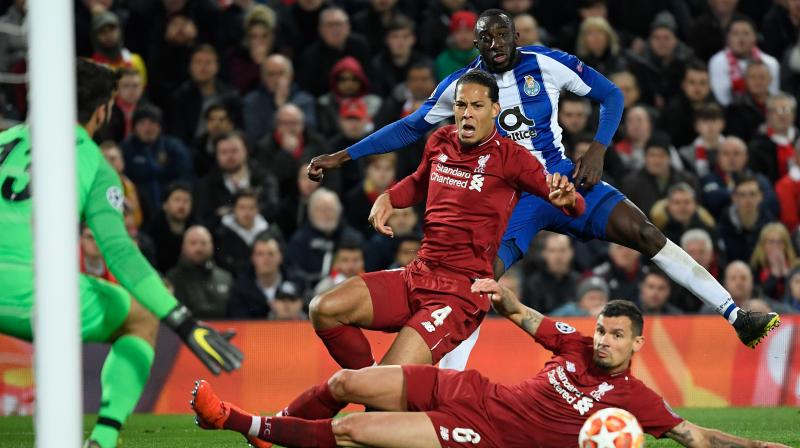 Liverpool thrashed the Portuguese giants 5-0 in the first leg of their last-16 tie last season and the scoreline could have been just as embarrassing for Sergio Conceicao's men had the hosts been more accurate in front of goal.