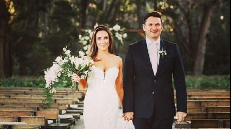 On Saturday, former South African batsman Graeme Smith tied the knot with his Romy Lanfranchi. (Photo:Instagram)