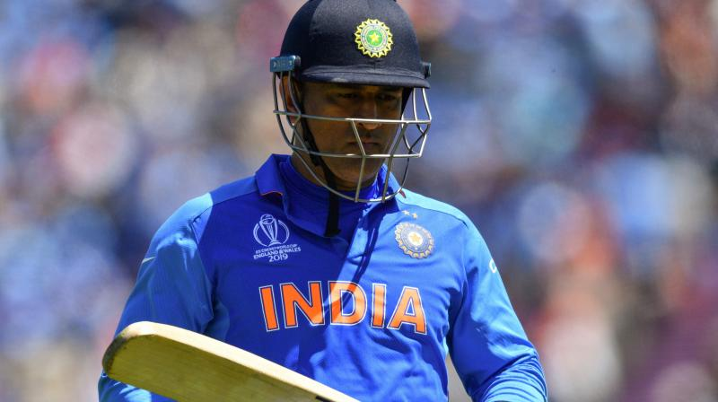 MS Dhoni made himself unavailable for the three ODIs and three T20Is in the West Indies and would like to keep himself unavailable until India completes its transition phase. (Photo: AFP)