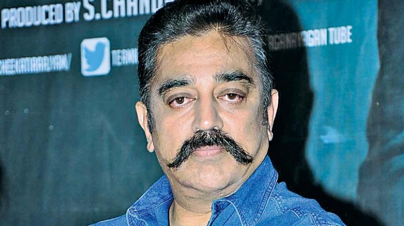 The remarks had resulted in a major row, with the BJP and AIADMK tearing into Haasan, even as cases were filed against him in Tamil Nadu and Delhi.  (Photo: File)