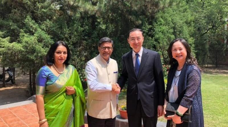 The former Chinese Ambassador is said to have played a significant role in dousing tensions between India and China during Dokalam standoff and was widely appreciated for his expertise in India and its foreign policy. (Photo: Twitter | @VikramMisri)