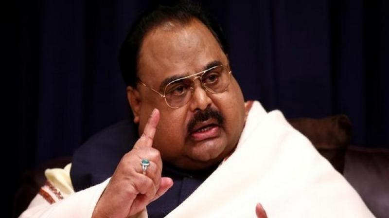 Hussain regularly makes television addresses or telephone speeches to his supporters, where he heavily criticises the Pakistan Army and ISI for alleged 'military oppression' of Muhajirs. (Photo: ANI)