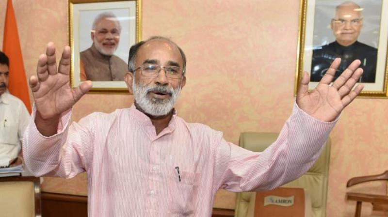 Aadhaar data safe, privacy concerns overstated, says minister Alphons