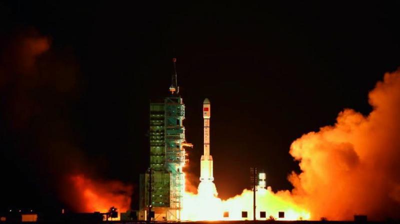 Debris from a defunct Chinese space to crash to earth