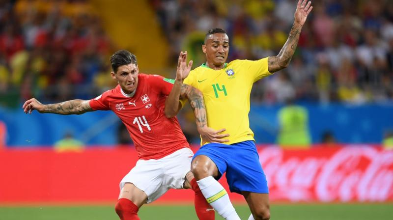 Ramos also ignored a penalty claim late in the second half when Brazil forward Gabriel Jesus was wrestled to the ground by Manuel Akanji. (Photo: Fifa official site)