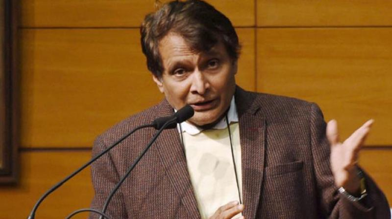 Image result for Suresh Prabhu