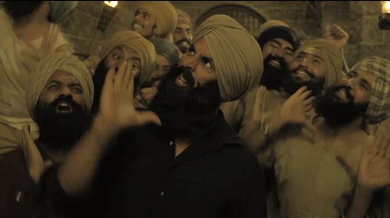 Screengrab from the song Saun Kehndi from Kesari. (Courtesy: YouTube/Zee Music Company)
