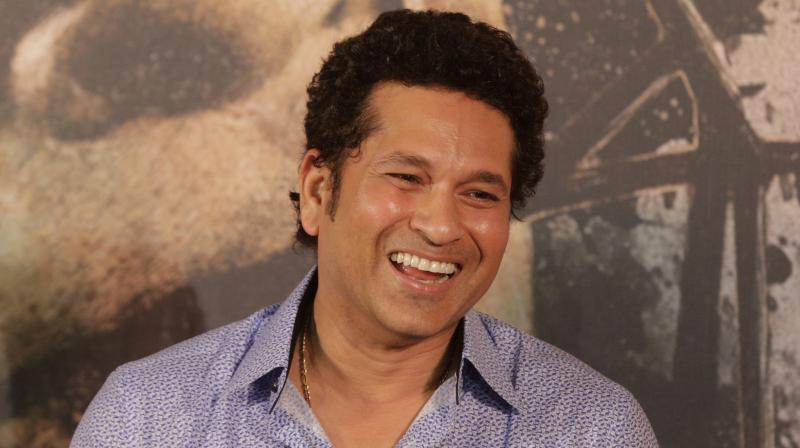In an open letter to fellow men in the ongoing International Men's Week, Sachin Tendulkar said his tribe should never pretend to be tough when things are falling apart. (Photo: AP)