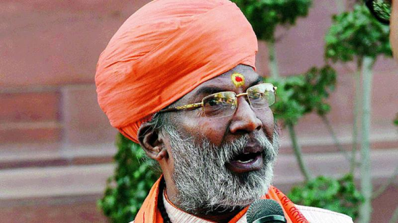 BJP MP and religious leader Sakshi Maharaj (Photo: PTI)