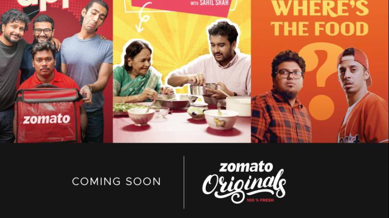 While currently many of the shows seem to be in food or delivery related categories, Zomato promises to have more entertaining and engaging comedy, reality, fiction, advice content and celebrity interviews (Photo: Zomato's Blog)