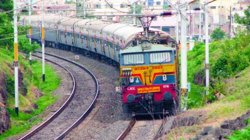 On receiving the information railway police along with Pollachi DSP Krishnamoorthy launched an investigation at the spot and found explosive materials on the track.