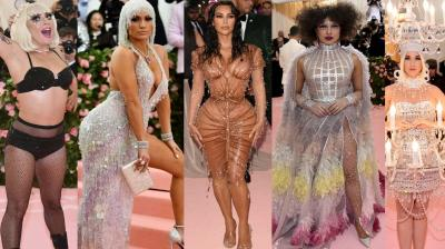 "Camp: Notes on Fashion: The theme for Met Gala 2019 was inspired from ""Notes on Camp"", an essay written by Susan Sontag in 1964. The essay states, ""It is not a natural mode of sensibility, if there be any such."" The concluding line beautifully encapsulates the core message of Met Gala 2019 – ""The ultimate Camp statement: it's good because it's awful."""