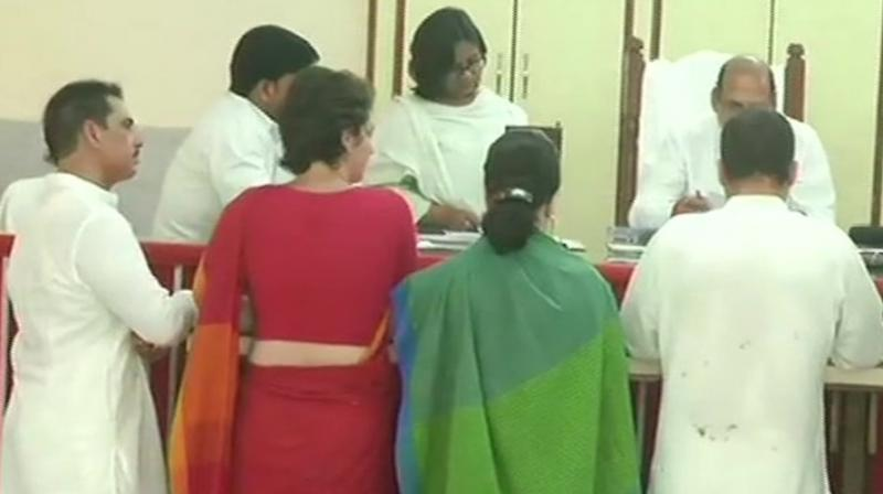 Besides Amethi, Rahul Gandhi will also be contesting from Wayanad seat in Kerala. (Photo: ANI | Twitter)