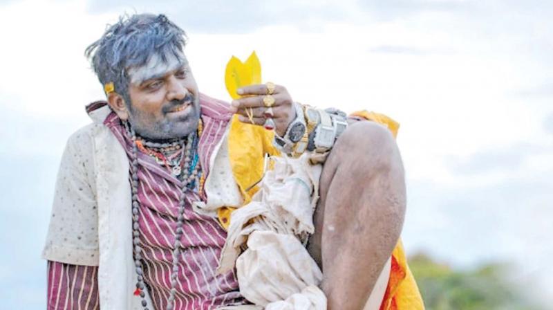 புதிய கெட்டப்பில் விஜய்சேதுபதி....கடைசி விவசாயி படத்தில்...!!!