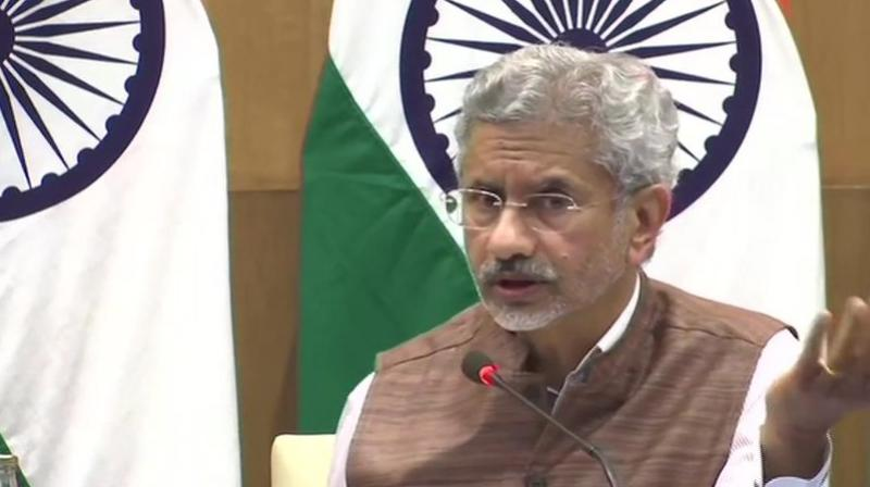 "Jaishankar said Pakistan would remain a ""unique challenge"" until it ""successfully"" addressed cross-border terrorism and ""becomes a normal neighbour"". (Photo: ANI)"