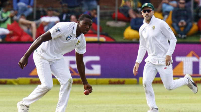 Key South African bowler Rabada banned for two Tests