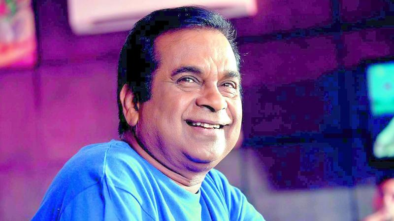 Apparently, the Brahmanandam-brand of comedy has become old and filmmakers are looking for fresh talent these days.