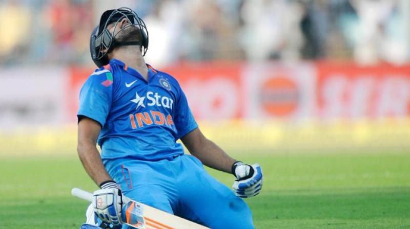 It was on November 13, 2014, when opening batsman Rohit Sharma, popularly known as the 'Hitman' registered the highest individual ODI score. Rohit, went on to score 264 runs against Sri Lanka at the Eden Gardens, Kolkata. (Photo:ICC/Twitter)