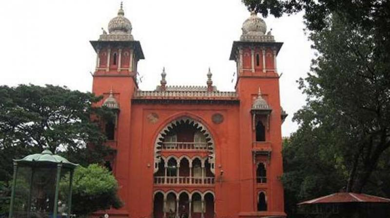 FIle photo of Madras High Court (Source: PTI)