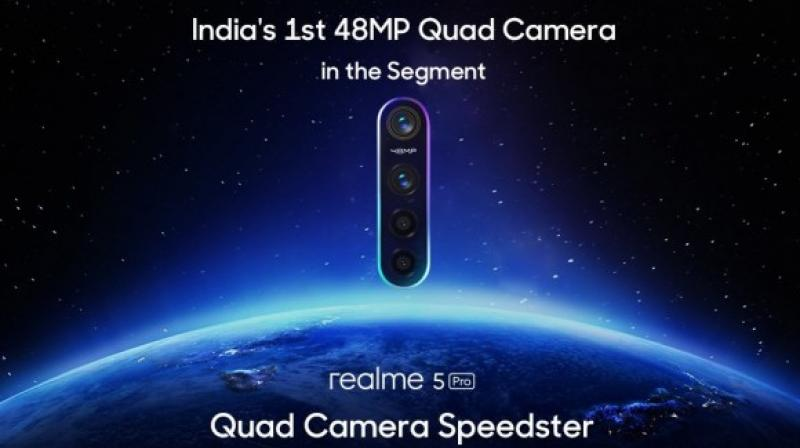 The sensor uses the quad-bayer technology to combine the light of four pixels into one to get better pictures, especially in low light environments.