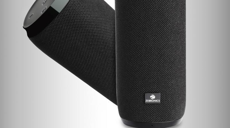 Zebronics Masterpiece bluetooth stereo speaker.