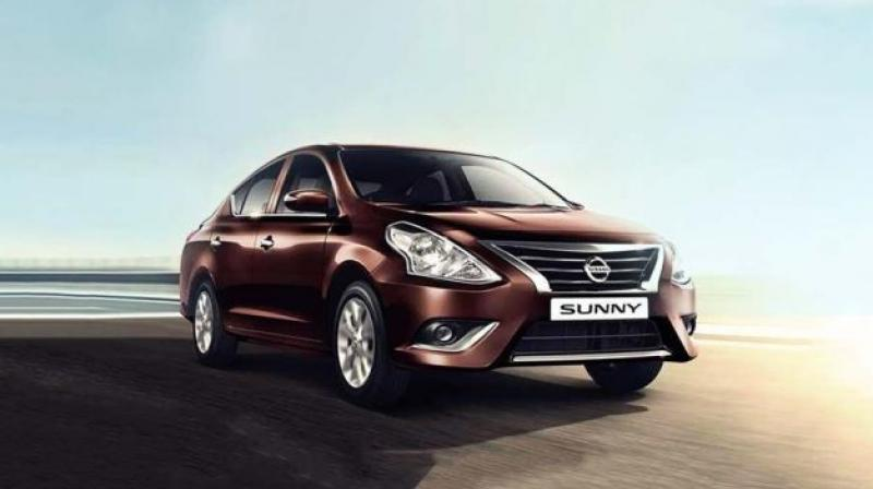 Nissan Micra, Micra Active and Sunny get different cash discounts.