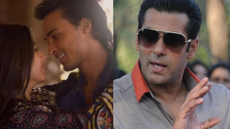 Salman Khan's brother-in-law Aayush Sharma and Warina Hussain make their debuts with 'Loveyatri.'