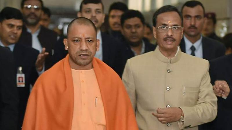 The Uttar Pradesh Control of Organised Crime Bill, 2017, was introduced in the House by Chief Minister Yogi Adityanath soon after the Question Hour. (Photo: PTI)