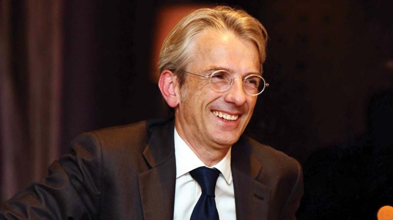 Emmanuel Lenain, Ambassador of France to India