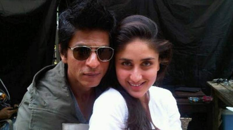SRK gets the Hot chick