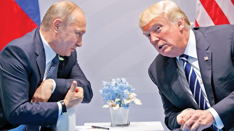 The Russian president also sent messages to other heads of state, including the leaders of former Soviet countries, France's Emmanuel Macron, Germany's Angela Merkel and Syrian president Bashar Al-Assad. (Photo: File)
