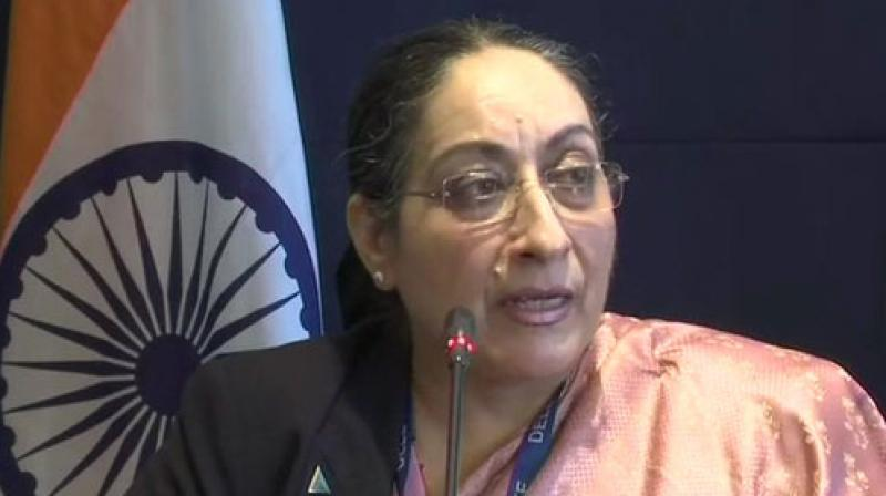 Responding to UN human rights chief Michelle Bachelet's Oral Update on Monday, Singh said the recent legislative measures taken by India in Jammu and Kashmir were within the framework of its Constitution. (Photo: File)