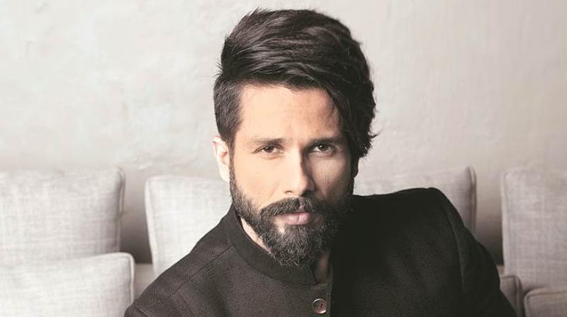Shahid Kapoor gearing up for his next release Padmavati.