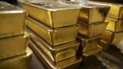 Sovereign gold, however, held steady at Rs 26,500 per eight gram. (Representational Image)