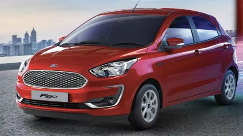 the new Figo will be available in only three variants: Ambiente, Titanium and Titanium Blu.