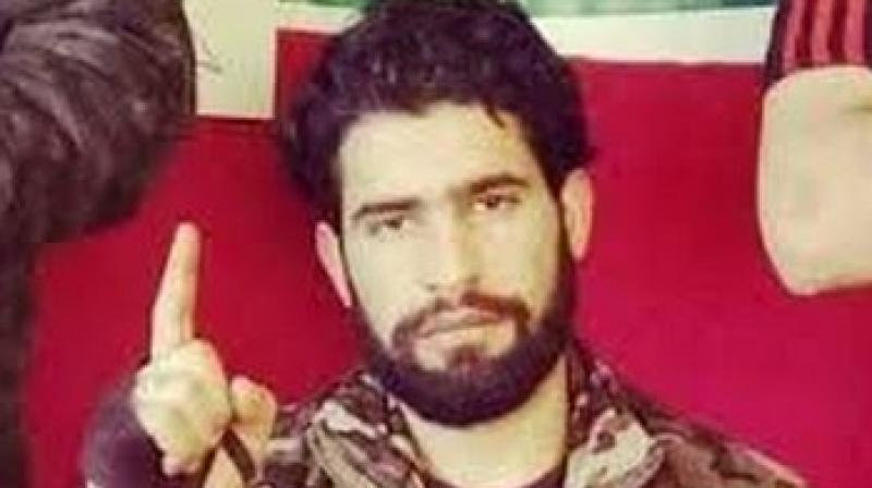 Zakir Musa, the so-called chief of Ansar Ghazwat-ul-Hind, a group affiliated with Al-Qaeda. (Photo: FIlE)