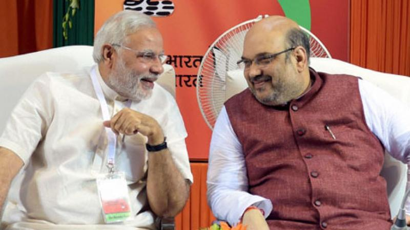 After Prime Minister Narendra Modi came to power in 2014, the country started developing rapidly, BJP President Amit Shah said. (Photo: PTI/File)