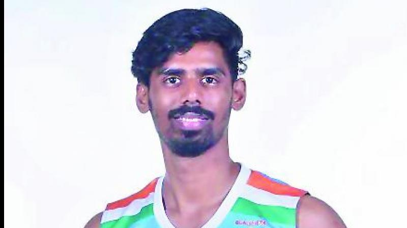 Prudhvi Reddy, a 22-year-old basketball player, is the pride of Hyderabad. With hard work and a passion for the game, he has become a name to reckon with. (Photo: DC)