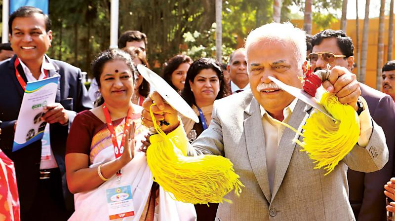 A sprawling Aerospace Technology Centre set in over 40 acres of land was unveiled. (Photo: DC)
