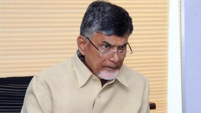 Andhra Pradesh chief Minister and TDP chief Chandrababu Naidu is currently in Dubai, but had an emergency tele-conference session with TDP MPs, including two Union Cabinet ministers on Thursday to discuss further action. (Photo: Twitter)