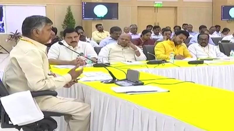 Naidu disowns MPs loose talk