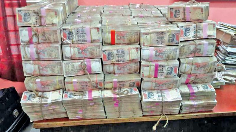 In March, the Chennai Police had seized demonetised notes amounting to Rs 1.02 crore and Rs 3.45 crore in two different incidents from people who were attempting to get them exchanged.