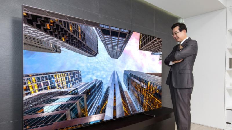 QLED TVs reproduce rich display quality using their proprietary metal quantum dot technology.