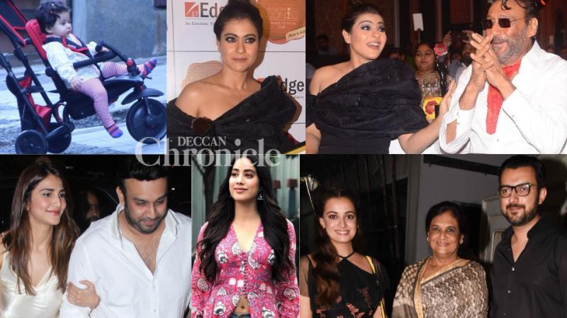 Bollywood stars were photographed at multiple locations in Mumbai on Friday. (Photos: Viral Bhayani)