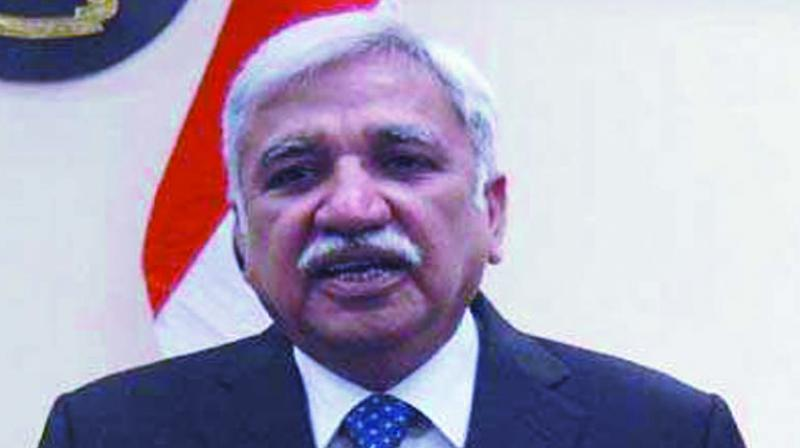 Chief Election Commissioner Sunil Arora.